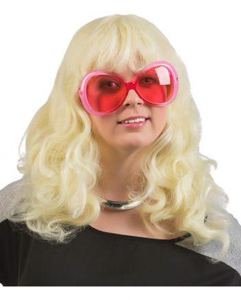 Blond Vågig Peruk - One size - Maskeradspecialisten.se