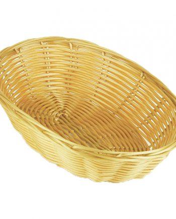 Brödkorg Oval - 23 cm - Maskeradspecialisten.se