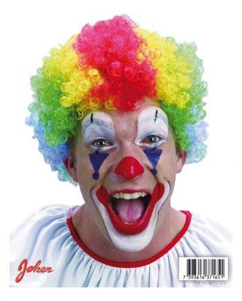 Clownperuk - One size - Maskeradspecialisten.se