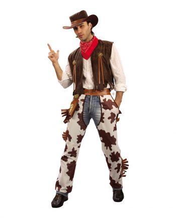 Cowboy Budget Maskeraddräkt - One size - Maskeradspecialisten.se