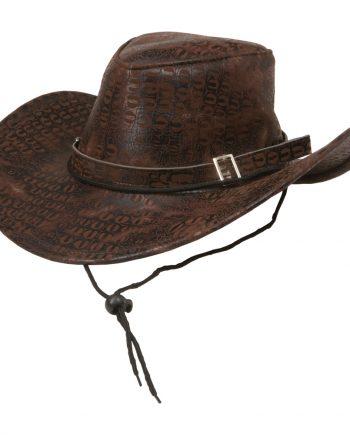 Cowboyhatt Brun - One size - Maskeradspecialisten.se