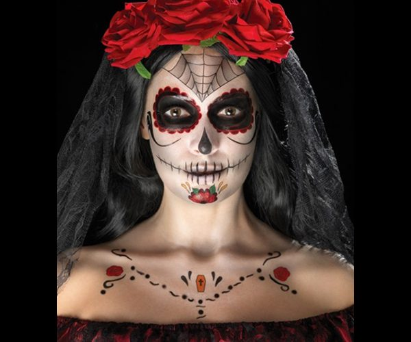 Halloween- Day of the Dead Ansiktstatueringar-Maskeradspecialisten.se