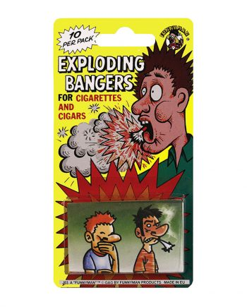 Exploderande Cigaretter - 10-pack - Maskeradspecialisten.se