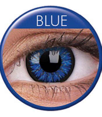 Glamourlinser Blue - Maskeradspecialisten.se