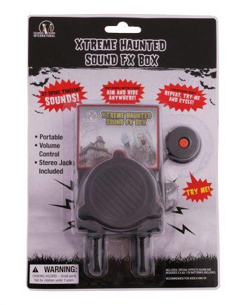 Halloween Ljudlåda - Maskeradspecialisten.se