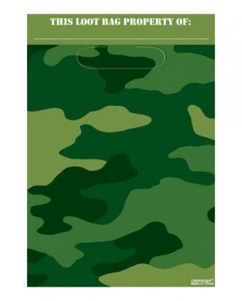 Kalaspåsar Kamouflage - 8-pack - Maskeradspecialisten.se