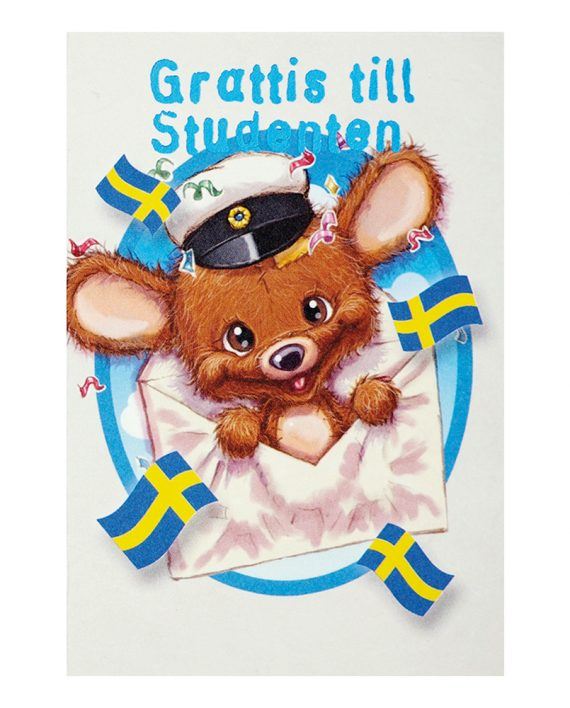 Kort Mini Student Mus - Maskeradspecialisten.se
