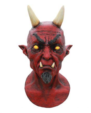 Lucifer Deluxe Mask - One size - Maskeradspecialisten.se