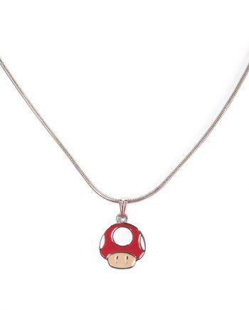 Nintendo Röd Svamp Halsband - Maskeradspecialisten.se