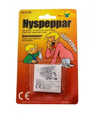 Nyspeppar - Maskeradspecialisten.se