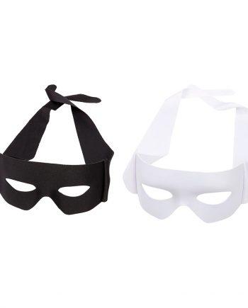 Ögonmask Revenge - Vit - Maskeradspecialisten.se