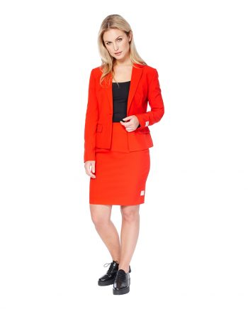 OppoSuits Red Ruby Kostym - 34 - Maskeradspecialisten.se