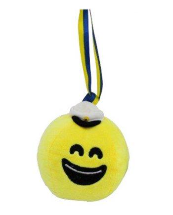Plyschboll Smiley Student - Maskeradspecialisten.se