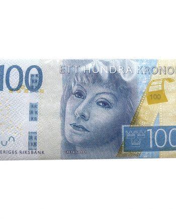 Servetter 100-kronorssedlar - 10-pack - Maskeradspecialisten.se