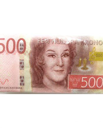 Servetter 500-kronorssedlar - 10-pack - Maskeradspecialisten.se