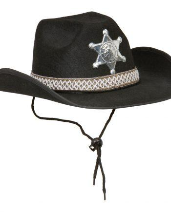 Sheriffhatt - One size - Maskeradspecialisten.se