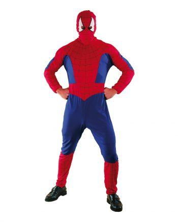 Spiderman Budget Maskeraddräkt - One size - Maskeradspecialisten.se