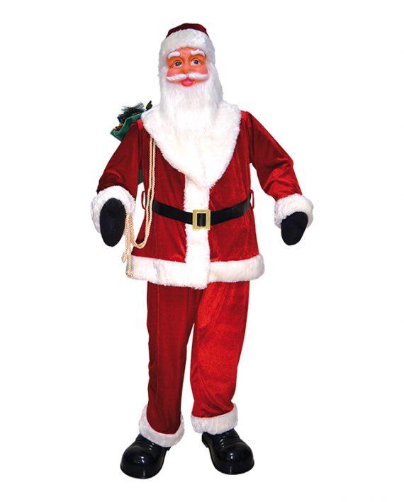 Stående Jultomte Stor - Maskeradspecialisten.se
