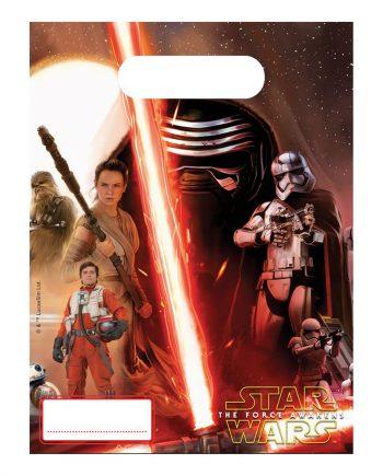 Star Wars The Force Awakens Kalaspåse - 6-pack - Maskeradspecialisten.se