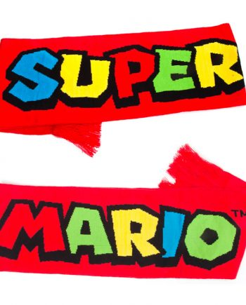 Super Mario Stickad Halsduk - Maskeradspecialisten.se