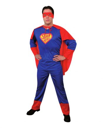 Superman Budget Maskeraddräkt - One size - Maskeradspecialisten.se