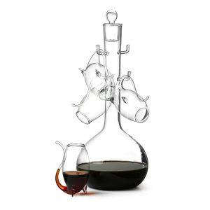 Glaskaraff med sippglas - Komplett set _299KR