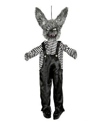 Animerad Killer Critter Kanin Hängande Prop - Maskeradspecialisten.se