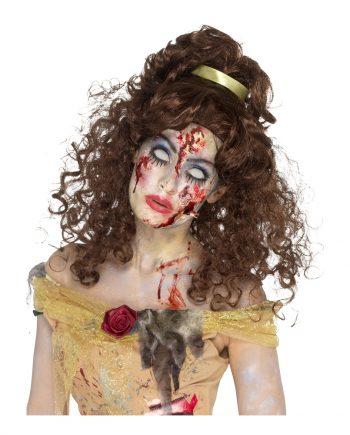 Belle Zombie Peruk - One size - Maskeradspecialisten.se