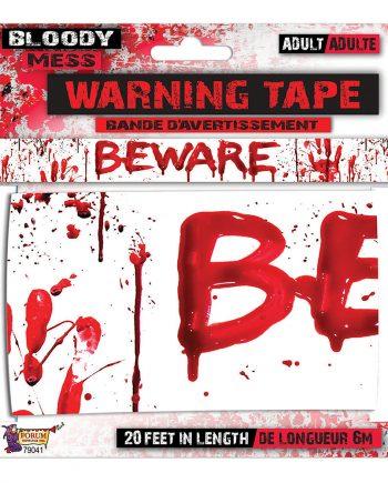Beware Avspärrningsband - Maskeradspecialisten.se