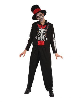 Day of the Dead Kostym Maskeraddräkt - One size - Maskeradspecialisten.se