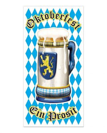 Dörrdekoration Oktoberfest - Maskeradspecialisten.se