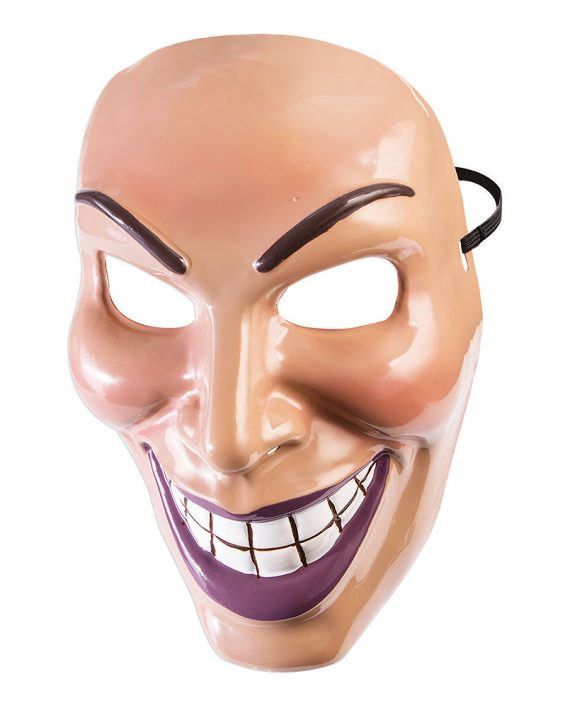 Evil Grin Tjej Mask - One size - Maskeradspecialisten.se