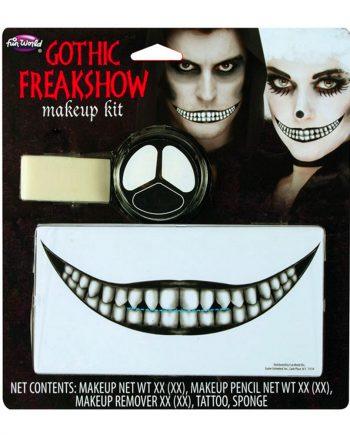 Gothic Freakshow Sminkset - Maskeradspecialisten.se