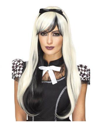 Gotisk Alice Deluxe Peruk - Maskeradspecialisten.se