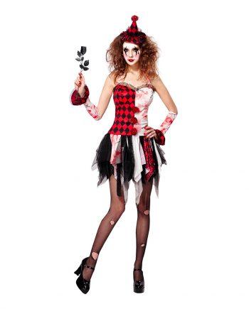 Harlequin Halloween Maskeraddräkt - Small - Maskeradspecialisten.se
