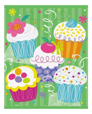 Kalaspåsar Cupcakes - 8-pack - Maskeradspecialisten.se