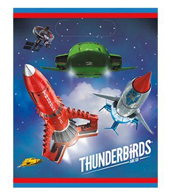 Kalaspåsar Thunderbirds - 8-pack - Maskeradspecialisten.se