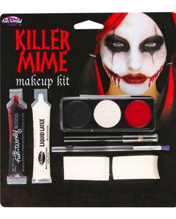 Killer Mime Sminkset - Maskeradspecialisten.se