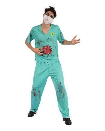 Kirurg Zombie Maskeraddräkt - One size - Maskeradspecialisten.se