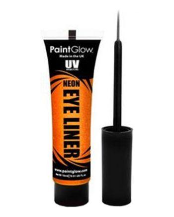 PaintGlow UV Neon Eyeliner - Orange - Maskeradspecialisten.se