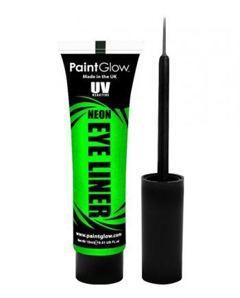 PaintGlow UV Neon Eyeliner - Grön - Maskeradspecialisten.se