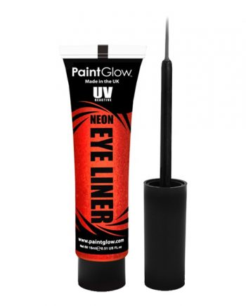PaintGlow UV Neon Eyeliner - Röd - Maskeradspecialisten.se