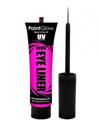 PaintGlow UV Neon Eyeliner - Rosa - Maskeradspecialisten.se