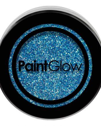 PaintGlow UV Neon Kroppsglitter - Blå - Maskeradspecialisten.se