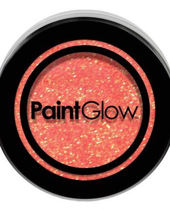 PaintGlow UV Neon Kroppsglitter - Persika - Maskeradspecialisten.se