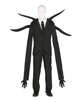 Ansiktslöst Monster med Tentakler Maskeraddräkt - Medium - Maskeradspecialisten.se