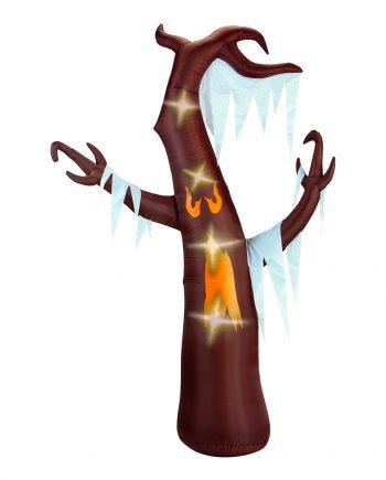 Uppblåsbart Halloweenträd med Belysning Prop - Maskeradspecialisten.se